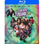 Suicide Squad Filmer Suicide Squad 3D (Blu-ray 3D + Blu-ray) (3D Blu-Ray 2016)