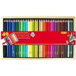 Färgpennor Sense Färgpennor Trälåda 40-pack