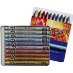 Hobbymaterial Caran d'Ache Neocolor I Metallic Colors 10-pack