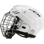 Ishockeyutrustning CCM Fitlite 40 Combo Hockey Helmet Hjälm