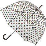 Transparent paraply Fulton Orla Kiely Birdcage 2 Mini Multi Flower Oval
