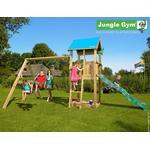 Klätterställning Jungle Gym Lektorn Ink. Swing Module Str Castle