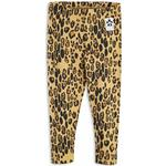 Byxor Barnkläder Mini Rodini Basic Leopard Leggings - Beige (1923012613)