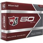 Golfbolde Wilson W/S Fifty Elite (12 pack)