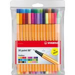 Stabilo Fineliner Point 88 30-pack