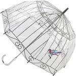 Transparent paraply Fulton Lulu Guinness Birdcage 2 Birdcage