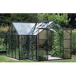 Aluminium Växthus Vitavia Sirius 13m² Aluminium Glas