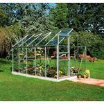 Fristående växthus - Glas Halls Popular 106 6.2m² Aluminium Glas