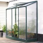 Vitavia IDA Vægdrivhus Small 1.34m² Aluminium Glas