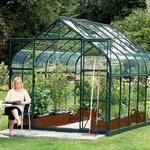 Härdat Glas - Fristående växthus Vitavia Diana 9900 9.9m² Aluminium Glas