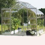 Fristående växthus - Kvadratisk Vitavia Diana 6.7m² Aluminium Akryl