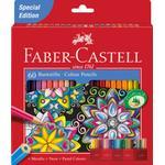 Färgpennor Faber-Castell Castle Colour Pencil 60-pack