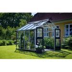 Fristående växthus - Kvadratisk Juliana Premium 8.8m² Aluminium Härdat glas