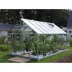 Fristående växthus Vitavia Merkur 11.5m² Aluminium Glas