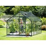 Fristående växthus - Glas Vitavia Merkur 8.3m² Aluminium Glas