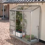 Väggväxthus - Polykarbonat Vitavia IDA Vægdrivhus Small 1.34m² Aluminium Polycarbonate