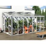 Väggväxthus Vitavia Helena 11.9m² Aluminium Glas