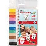 Glas- och porslinspennor Kreul Hobby Line Porcelain Pen 12-pack