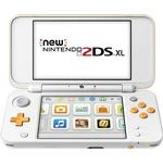 Nintendo 3DS Spelkonsoler Nintendo New 2DS XL - White/Orange