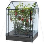 Miniväxthus Hortus Greenhouse 211-151 Rostfritt stål Plast