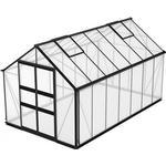 Skånska Byggvaror Odla 11.4m² with Base Aluminium Plast