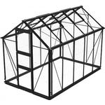 Fristående växthus Skånska Byggvaror Odla 6.0m² Aluminium Glas