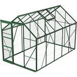 Fristående växthus Skånska Byggvaror Bruka 6.2m² Aluminium Glas
