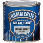 Målarfärg Hammerite Hammer Metallfärger Silver 0.25L