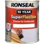 Paint Ronseal Super Flexible Wood Paint White 0.75L