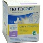 Bindor Natracare Natural Ultra Bind Long 10-pack