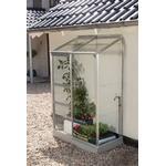 Väggväxthus Vitavia IDA Vægdrivhus Small 0.9m² Aluminium Glas