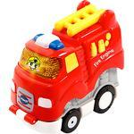 Toy Car Vtech Go! Go! Smart Wheels Press & Race Fire Truck