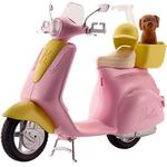 Doll Vehicles Mattel Barbie Scooter & Puppy