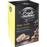 Briketter Bradleysmoker Alder Flavour Bisquettes BTAL48
