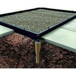 Sockel Halls Universal/Magnum 128 Foundation 9.9m² Aluminium, Rostfritt stål