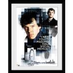 Home Styling GB Eye Sherlock Memory 30x40cm Framed art