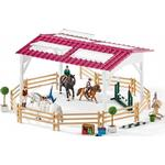 Play Set Schleich Riding School with Riders & horses 42389