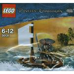 Pirates of the caribbean Leksaker Lego Pirates of the Caribbean Jack Sparrow med Båt 30131