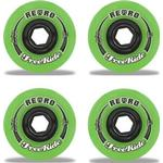 Skateboardhjul Abec11 Retro Freeride 72mm 80A 4-pack