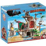 Toys Playmobil Dragons Berk Island Fortress with Firing Cannons 9243