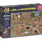 Klassiska Pussel Jumbo Jan Van Haasteren Kingsday 1000 Pieces