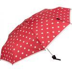 Kompaktparaply Knirps T.010 Pocket Umbrella Dot Art Red