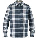 Flanellskjortor Herrkläder Fjällräven Fjällglim Shirt - Dark Blue