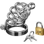 Master Series Asylum 4 Ring Locking Chastity Cage