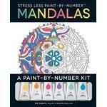 Stress Less Paint-By-Number Mandalas (Häftad, 2016)