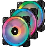 Rgb fläkt Datorkylning Corsair LL120 Dual Light Loop LED RGB 120mm Three Pack