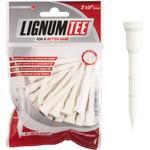 Golfpeggar Lignum Wooden Tees 62mm 16-pack