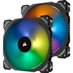 140 fläkt rgb Datorkylning Corsair ML140 Pro LED RGB 140mm Twin Pack