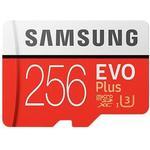 Minneskort Samsung EVO Plus MicroSDXC Class 10 UHS-I U3 100/90MB/s 256GB+Adapter