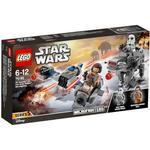 Star Wars - Lego Star Wars Lego Ski Speeder vs First Order Walker Microfighters 75195